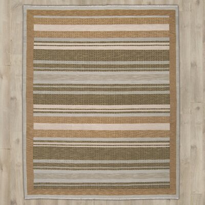Cadsden Hand-Woven Wool Brown Area Rug Rug Size: 810 x 1110
