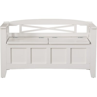 Middlefield Wood Storage Entryway Bench