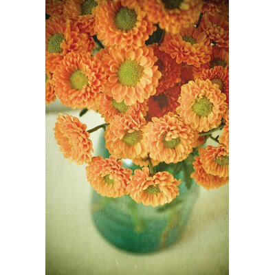 Autumn Bouquet Photographic Print on Wrapped Canvas