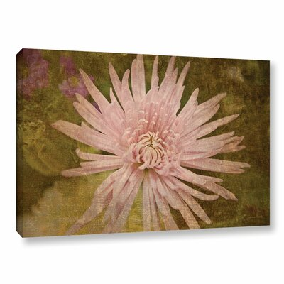 Heirloom Pink Painting Print on Gallery Wrapped Canvas
