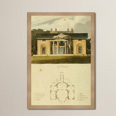 Villa III Framed Painting Print