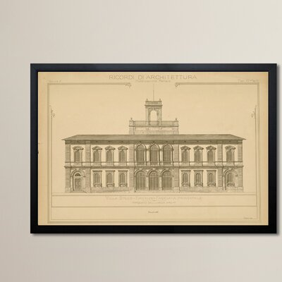 Villa Speer Framed Graphic Art