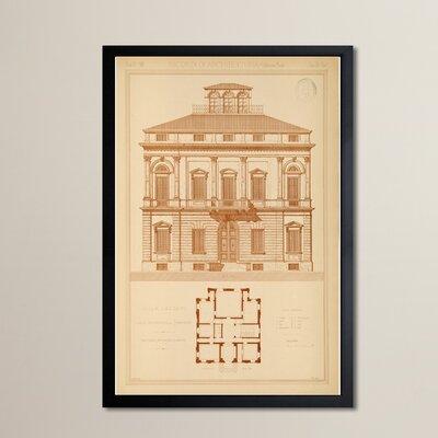Villa Lazzeri Framed Graphic Art