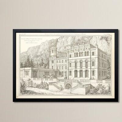 Villa Carlotti Framed Graphic Art