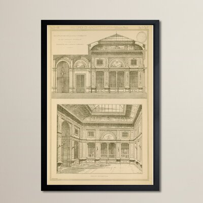Decorazione de Ufficio Postale Framed Graphic Art