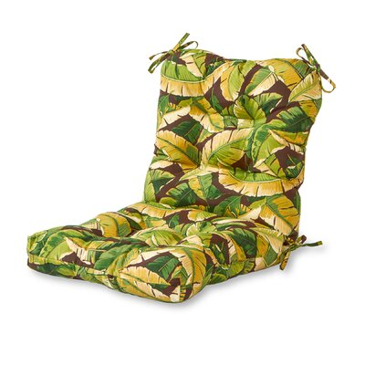 Outdoor Lounge Chair Cushion Fabric: Palm Green
