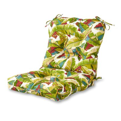 Outdoor Lounge Chair Cushion Fabric: Palm Multi