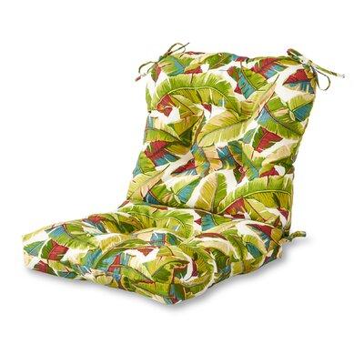 Outdoor Lounge Chair Cushion Fabric: Palm Multi
