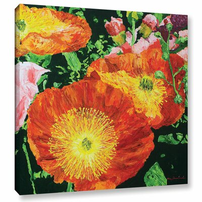 Exuberance is Beauty Painting Print on Wrapped Canvas