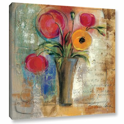 Love Poems I Painting Print on Wrapped Canvas