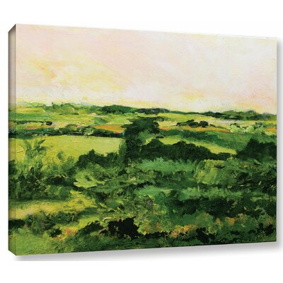 Perry Green Painting Print on Wrapped Canvas