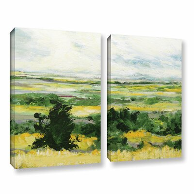 Petersfield 2 Piece Painting Print on Wrapped Canvas Set Size: 18