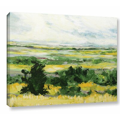 Petersfield Framed Painting Print on Wrapped Canvas Size: 14