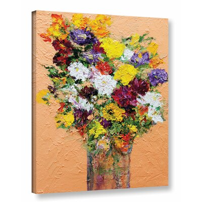 Spring's Delight Framed Painting Print on Wrapped Canvas