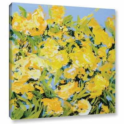 Stellenberg Garden Framed Painting Print on Wrapped Canvas