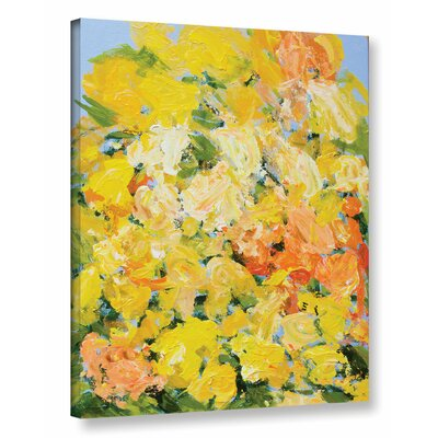 Suan Nong Nooch Garden Painting Print on Wrapped Canvas