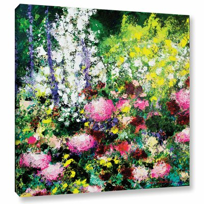 Summertime Framed Painting Print on Wrapped Canvas