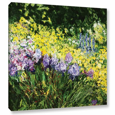 Sunshine Blossoms Framed Painting Print on Wrapped Canvas