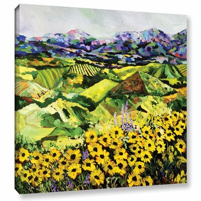 Sweet Bluff' Framed Painting Print on Wrapped Canvas