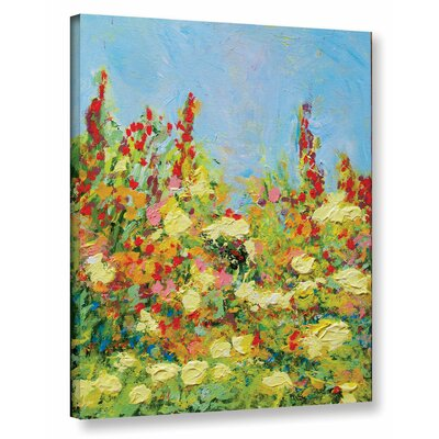 The Master Of Nets Garden Framed Painting Print on Wrapped Canvas