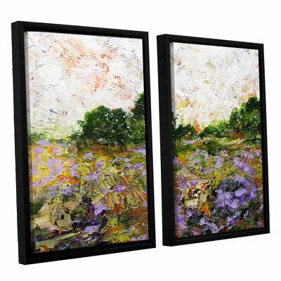 Trowbridge 2 Piece Framed Painting Print on Canvas Set