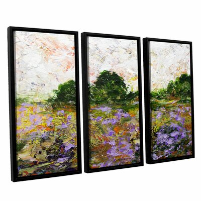 Trowbridge 3 Piece Framed Painting Print on Canvas Set Size: 24