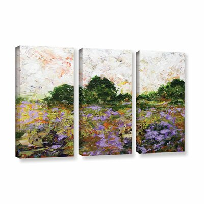 Trowbridge 3 Piece Painting Print on Wrapped Canvas Set