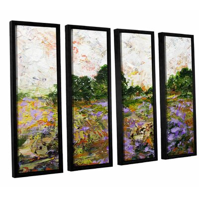 Trowbridge 4 Piece Framed Painting Print on Canvas Set Size: 24