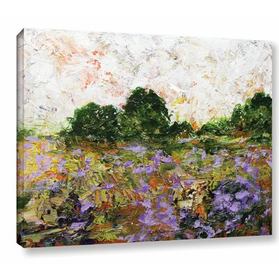 Trowbridge Painting Print on Wrapped Canvas Size: 14