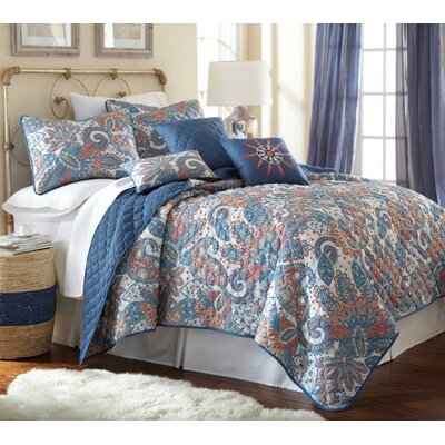 Willsboro 6 Piece Quilt Set Size: King