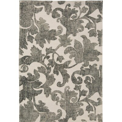 Oberlin Hand-Tufted Gray/Beige Area Rug Rug Size: 8 x 10