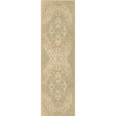 Redding Beige/Gray Area Rug Rug Size: Rectangle 110 x 211