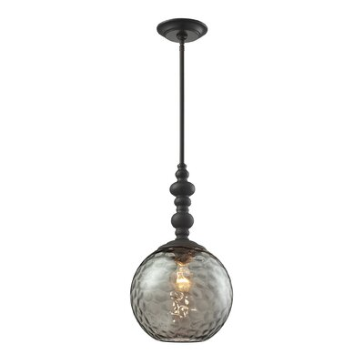 Rotterdam 1-Light Globe Pendant Finish: Oil Rubbed Bronze