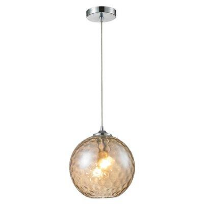Alcott Hill Rotterdam 1 Light Globe Mini Pendant