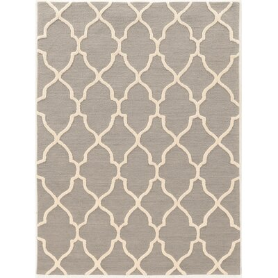 Wyndmoor Hand-Tufted Gray Area Rug Rug Size: 5' x 7'