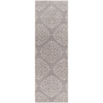 Rocky Hill Hand-Tufted Gray Area Rug Rug size: Runner 26 x 8