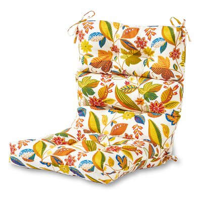 Outdoor Lounge Chair Cushion Fabric: Esprit Multi