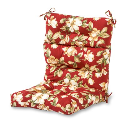 Outdoor Lounge Chair Cushion Fabric: Roma Floral
