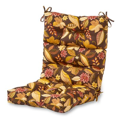 Outdoor Lounge Chair Cushion Fabric: Timberland Floral