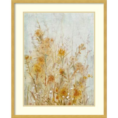 Spring Time I: Floral Framed Graphic Art