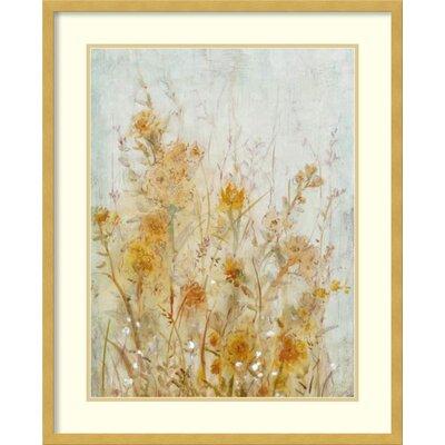 Spring Time I: Floral Framed Graphic Art