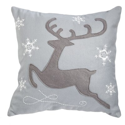 Northampton Reindeer Outdoor Throw Pillow