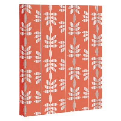 Abadi Coral Graphic Art on Wrapped Canvas