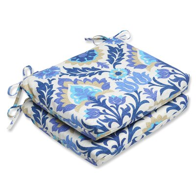 Rockhill Outdoor Seat Cushion Fabric: Azure