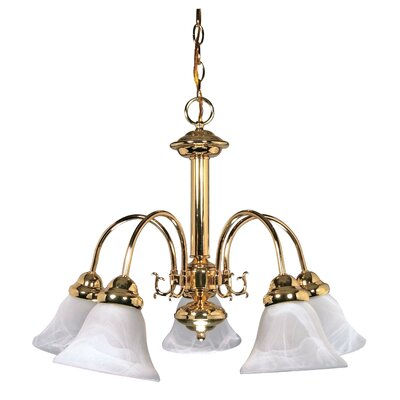 Gurney 5-Light Transitional Shaded Chandelier