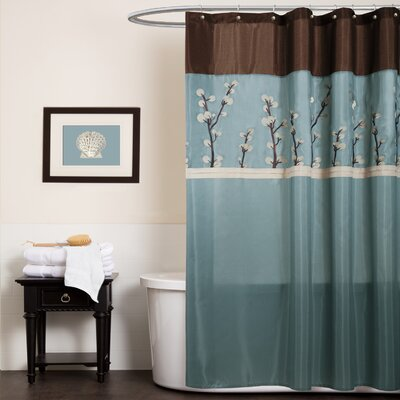Noblestown Embroidered Shower Curtain