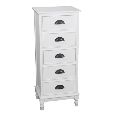 Orrstown 5 Drawer Storage Unit