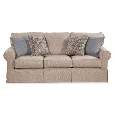 Serta Upholstery Parkville Sofa Upholstery: Coast Almond