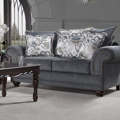 Serta Upholstery Pawling Loveseat Upholstery: Stanza Delft