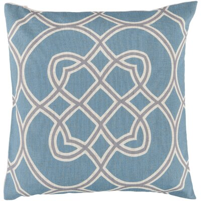 Paxtonville Throw Pillow Cover Size: 22 H x 22 W x 0.25 D, Color: BlueGray
